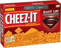 Cheez-It® Man of Steel™ Baked Snack Crackers