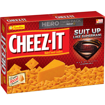Cheez-It® Man of Steel™ Baked Snack Crackers 2-13.7 oz. Boxes
