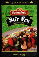 Springfield® Stir Fry Seasoning Mix. 1 oz packet.