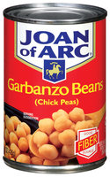 Joan of Arc Chick Peas Garbanzo Beans 15 Oz Can
