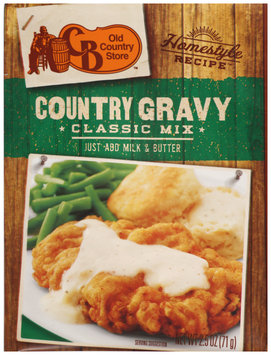 Old Country Store™ Homestyle Recipe™ Country Gravy Classic Mix 2.5 oz. Pack