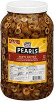 Pearls® California Sicilian Green Sliced Zesti Olives™ with Spice Packet 80 oz. Jar