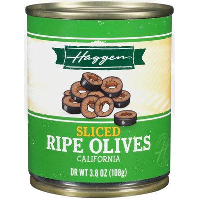 Haggen® Sliced Ripe California Olives 3.8 oz. Can