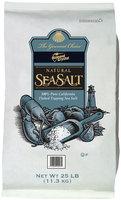 The Gourmet Choice™ Natural Sea Salt 25 lb. Bag