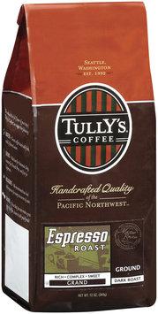 Tully's Coffee Espresso Roast Grand Dark Roast Ground Coffee
