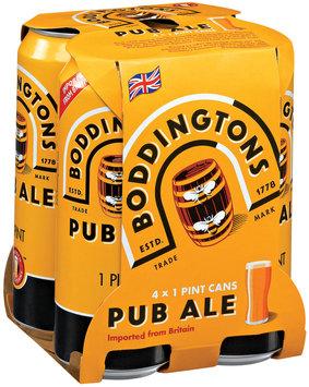 BODDINGTONS 16 oz Single & Beer 4 PK CANS