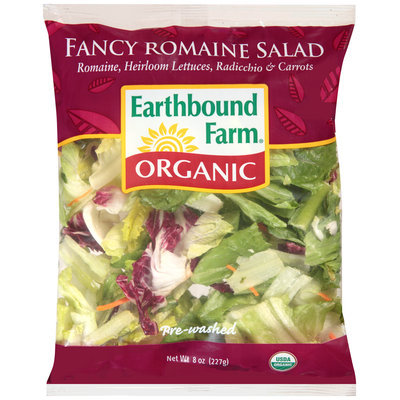 Earthbound Farm® Organic Fancy Romaine Salad 8 oz. Bag