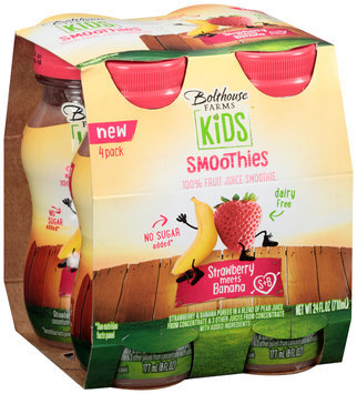 Bolthouse Farms Kids Smoothies Strawberry Meets Banana