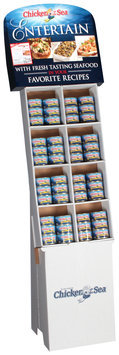 Chicken of the Sea® Tiny Shrimp & White Crabmeat 48 ct Display