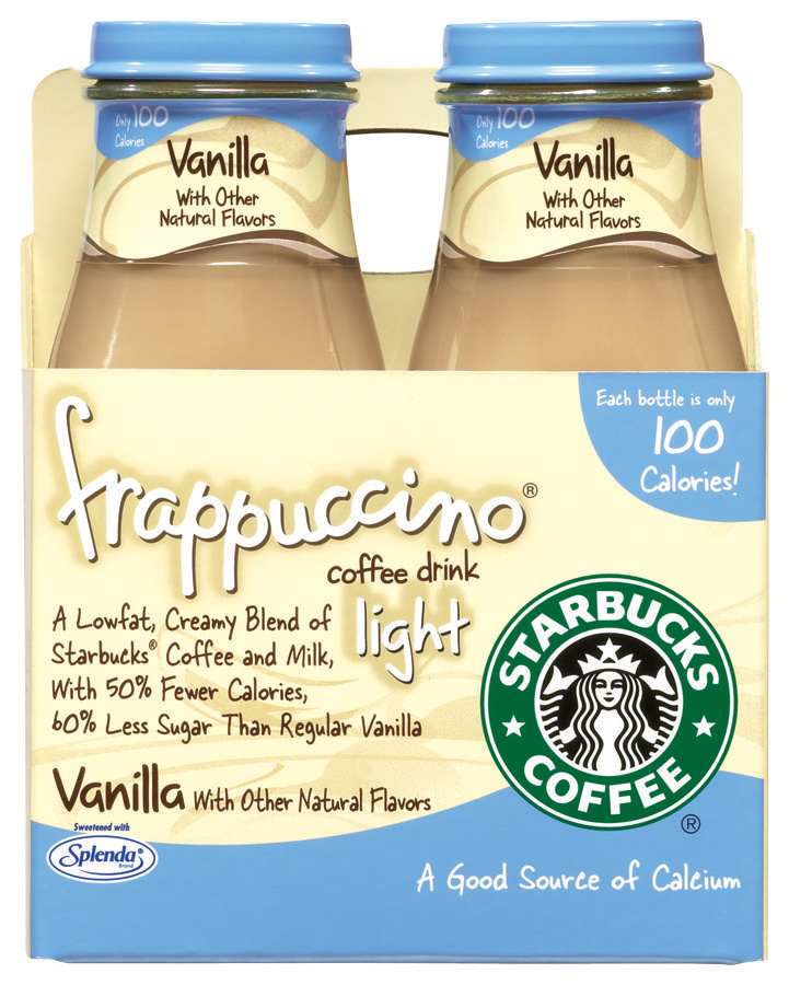 Starbucks Vanilla Light Frappuccino Coffee Drink