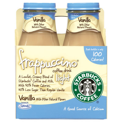 Starbucks Vanilla Light Frappuccino Coffee Drink
