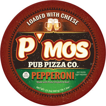 P'mos™ Pub Pizza Co. Pepperoni Pizza 23.3 oz.