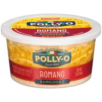 Polly-O Shredded Romano Cheese 5 oz. Tub