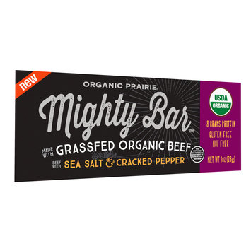 Organic Prairie® Mighty Bar™ Beef with Sea Salt & Cracked Pepper 1 oz. Peg