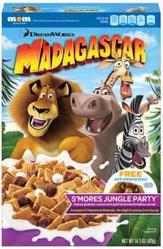 DreamWorks Madagascar S'Mores Jungle Party™ Cereal 14.5 oz. Box