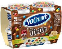 YoCrunch® Banana Lowfat Yogurt with M&M's® 4-4 oz. Cups