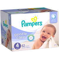 Pampers® Gentle Care Newborn Diapers Size 4