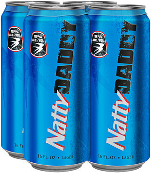 NATTY DADDY 16 Oz Single & Beer 4 PK CANS