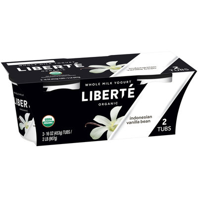 Liberté® Organic Indonesian Vanilla Bean Whole Milk Yogurt