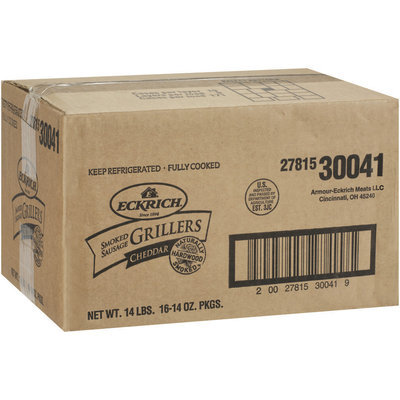 Eckrich® Cheddar Smoked Sausage Grillers 8 ct Pack