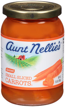 Aunt Nellie's® Small Sliced Glazed Carrots 15.5 oz. Jar