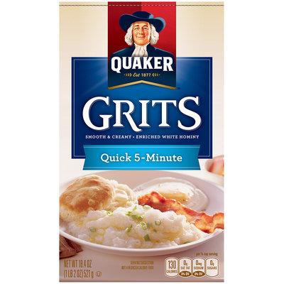Quaker™ Quick 5-Minute Grits 18.4 oz. Box