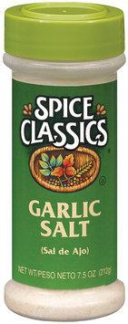 Spice Classics  Garlic Salt 7.5 Oz Shaker