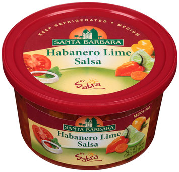 Santa Barbara® Habanero Lime Medium Salsa by Sabra® 14 oz. Tub