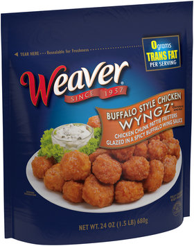 Weaver® Buffalo Style Chicken Wyngz 24 oz. Bag