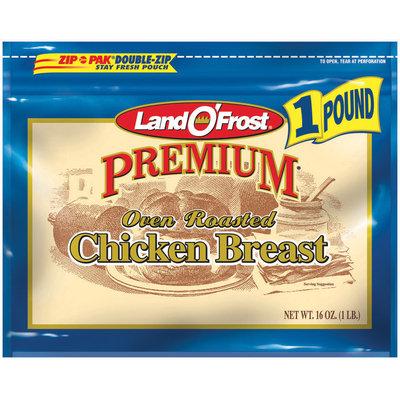 Land O' Frost Premium Premium Oven Roasted Chicken Breast 16 Oz Zip Pak