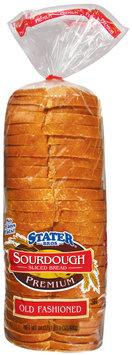 Stater Bros. Sourdough Sliced Old Fashioned Bread 24 Oz Bag