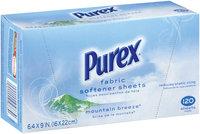 Purex Fabric Softeners Mountain Breeze Sheets Fabric Softener 120 Ct Box