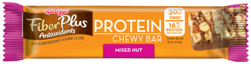 Kellogg's® FiberPlus® Antioxidants Protein Mixed Nut Chewy Bar