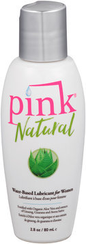 Pink® Natural Water-Based Lubricant for Women 2.8 oz. Bottle