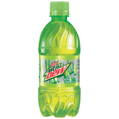 Diet Mountain Dew® 12 fl. oz. Plastic Bottle