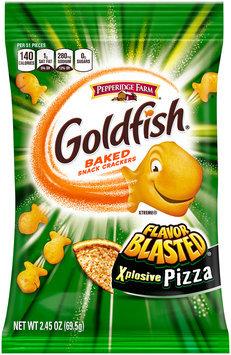 Pepperidge Farm® Goldfish® Flavor Blasted® Xplosive Pizza Baked Snack Crackers 2.45 oz. Package