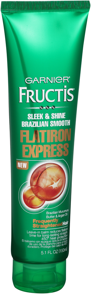 Garnier® Fructis® Sleek & Shine Brazilian Smooth Flatiron Express Leave-In Balm 5.1 fl. oz. Tube