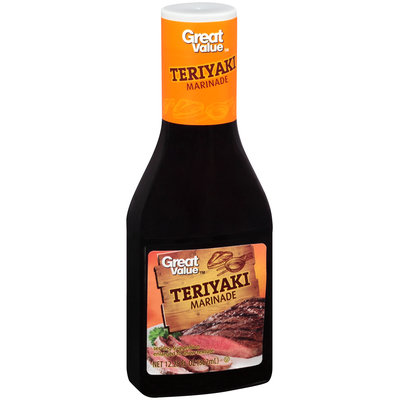 Great Value™ Teriyaki Marinade 12.25 fl. oz. Plastic Bottle
