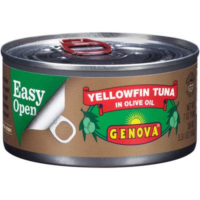 Genova® Yellowfin Tuna in Olive Oil 7 oz. Can