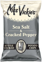 Miss Vickie's® Sea Salt & Cracked Pepper Kettle Cooked Potato Chips