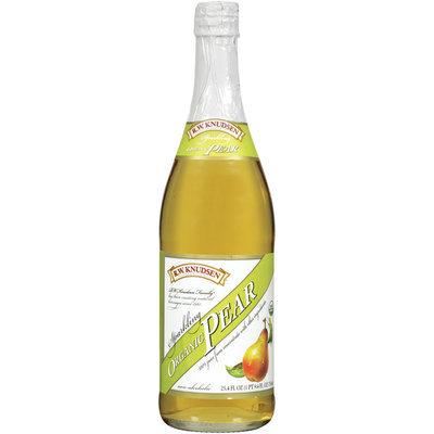R.W. Knudsen Family® Sparkling Organic Pear 100% Juice 25.4 fl. oz. Bottle