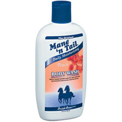 Mane 'n Tail Peach Daily Moisturizing Body Wash 12 Fl Oz Plastic Bottle
