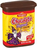 Springfield Chocolate Flavored Instant Drink Mix 15 Oz Canister