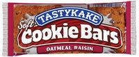 Tastykake Cookie Oatmeal Raisin Bars 2 Oz Wrapper