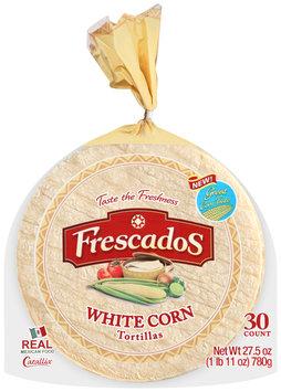 Frescados™ White Corn Tortillas 27.5 oz. Bag