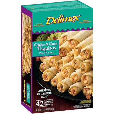 Delimex® Chicken & Cheese Taquitos 18 ct Box