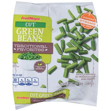 Fred Meyer® Cut Green Beans 12 oz. Bag