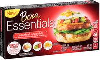 Boca Essentials Breakfast Scramble Veggie, Egg & Soy Protein Burgers 4 ct Box