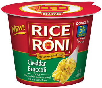 RICE-A-RONI Broccoli Cheddar Rice Blen 2.11 oz. Plastic Cup