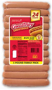 Gwaltney® Original Chicken Bun Size Hot Dogs 48 oz. Pack